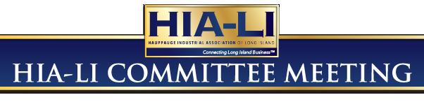 HIA Committee Meeting