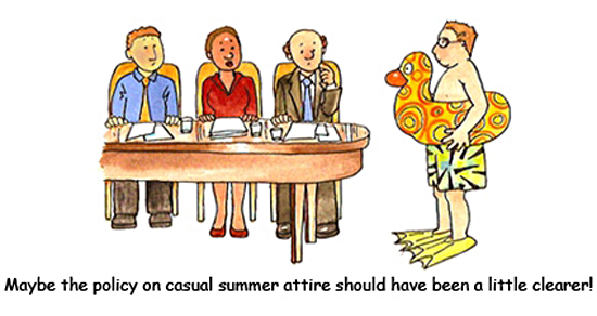summer dress code hr
